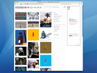Screenshot of the DesignKlicks website